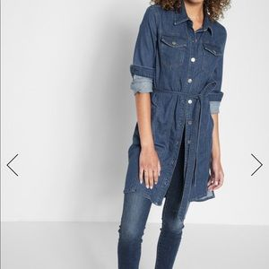 7 for all mankind long sleeves dress